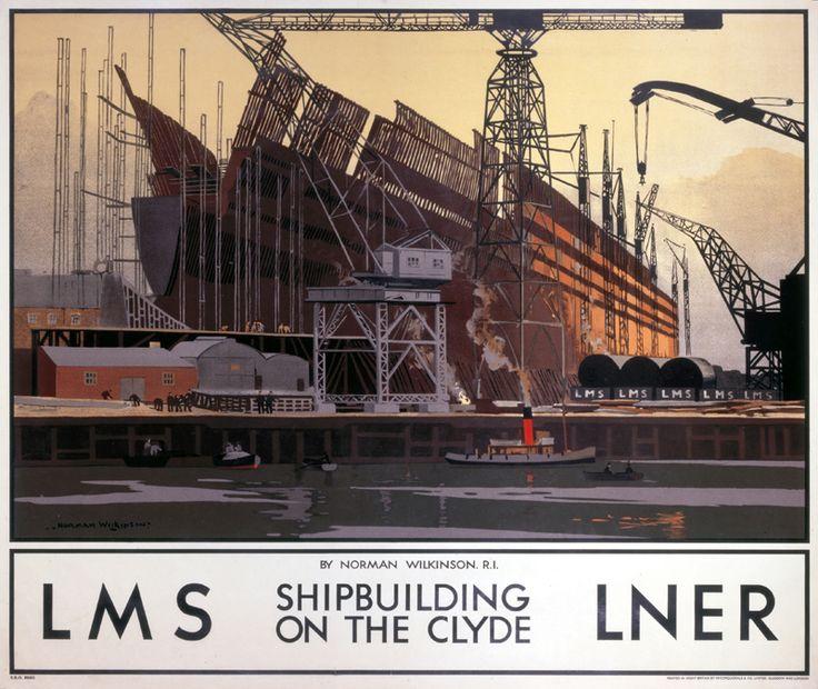 "chrysaoraelectrum: ""London North and Eastern Railway advertising poster,1923-1947. (source: collectionsonline.nmsi.ac.uk)"""