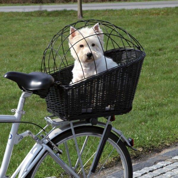Gallery For > Dog Bike Carrier