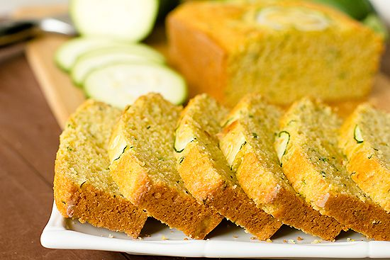 Zucchini Cornbread - what a great way to keep cornbread moist!