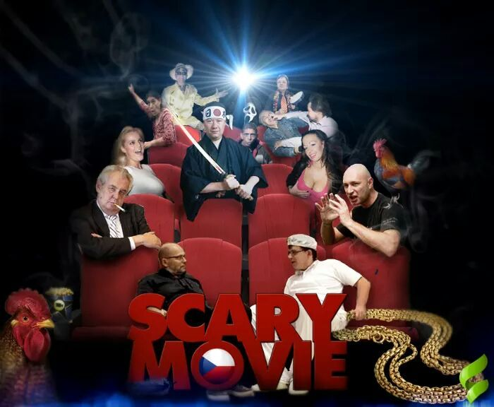 scary movie po česku