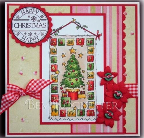 Advent-Calendar-Unmounted-Rubber-Stamp