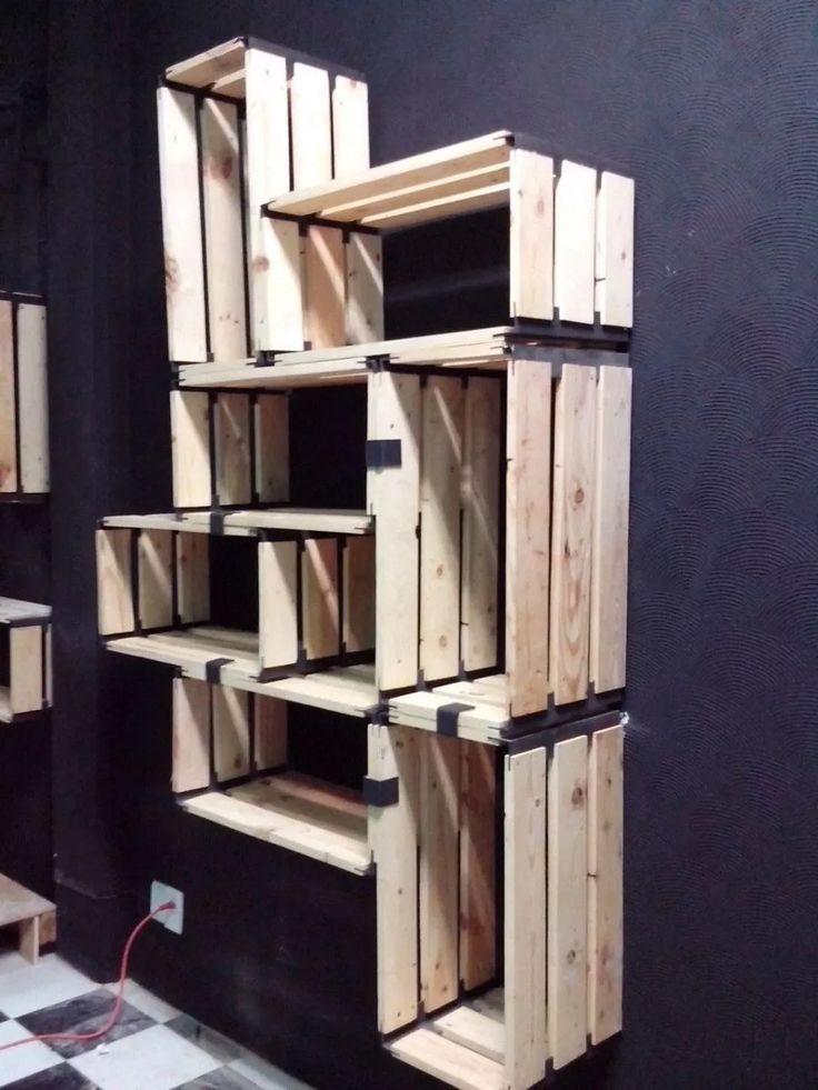 M s de 25 ideas incre bles sobre muebles de madera - Muebles madera reciclada ...