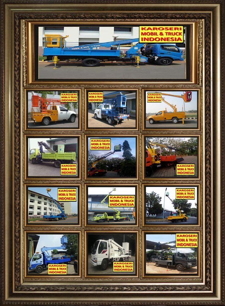 Jual Karoseri Mobil & Truck Skylift Unit Perbaikan