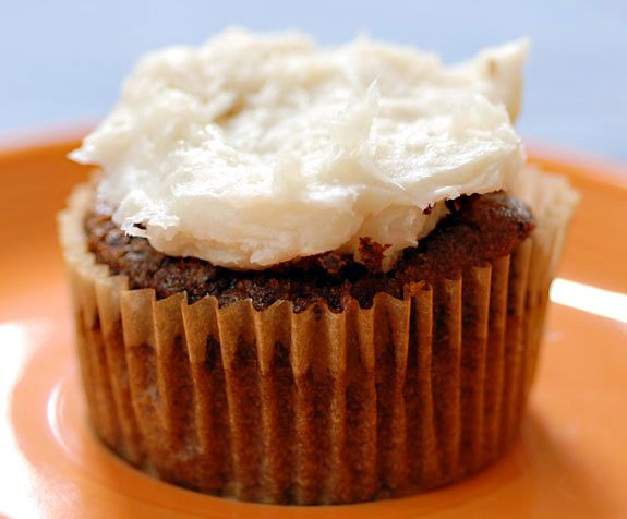 This delicious coconut frosting is made without butter or refined sugar and would be great on gluten free carrot cake.