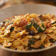 Scrapbook for Simply Italian Farfalle with mozzarella and tomatoe sauce recipe.