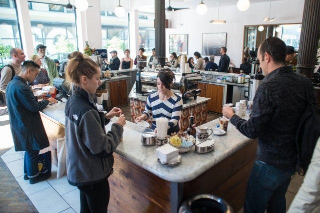 La Colombe cafe, New York