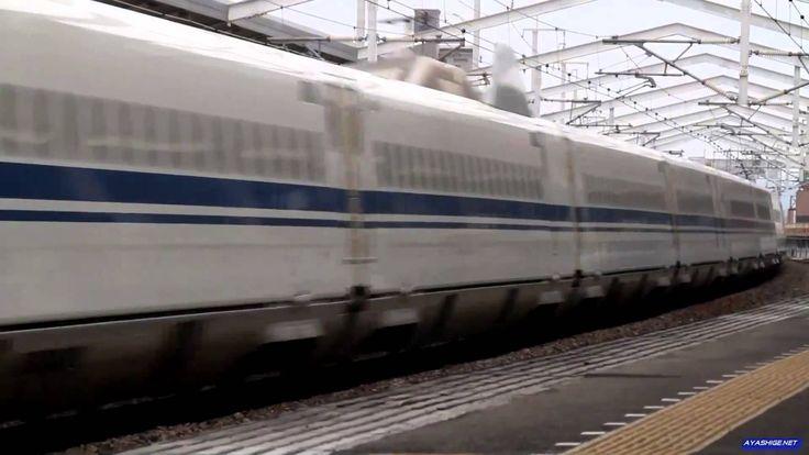 Японский поезд Shinkansen 100 series