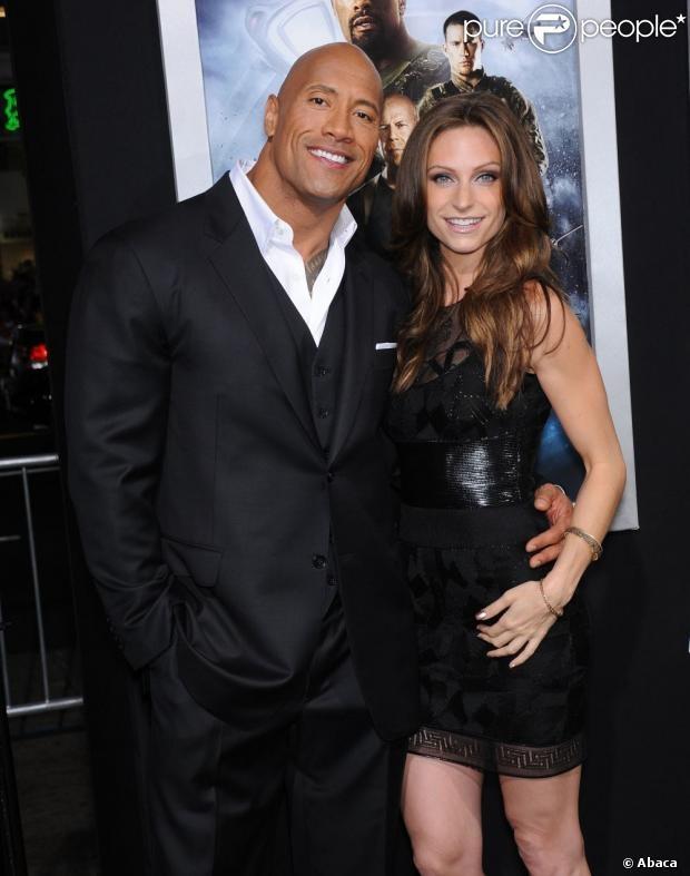 The Rock and his GF Lauren Hashian | Wrestling | Pinterest ...