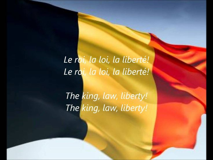 """Belgian National Anthem - """"La Brabançonne"""" (FR/DE/NL/EN) The world stands with you, you are in our hearts forever."""
