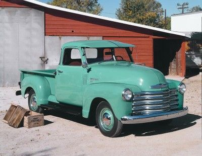 1947 Chevrolet truck: My grandfather drove one of these on his farm in Virginia back in the 1950's.