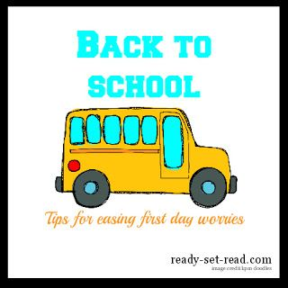 Great Back to School Ideas: Easing First Day Worries from Ready-Set-Read! Personalized folders, stickers, note cards, ID Tags & lunch boxes from philoSophie's may add to the excitement and make it extra special for your child! www.shopsophies.com for personalized back to school items.