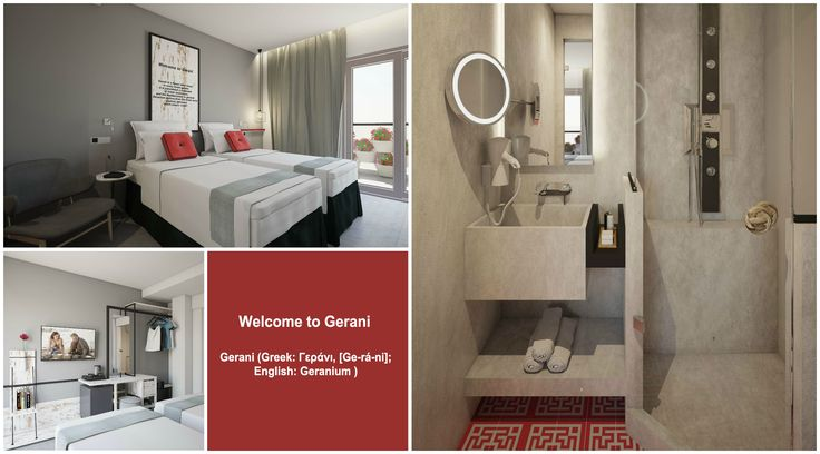Meet #Gerani a flower themed room located on the first floor of ‪ #Elakati  Luxury  #BoutiqueHotel  #Anthokipos ! #Rhodes #Greece