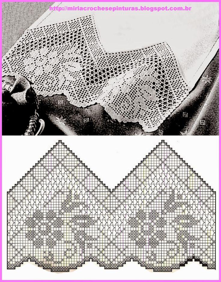 MIRIA crochets et peintures: lock-out de CROCHET AVEC DES FLEURS N ° 616