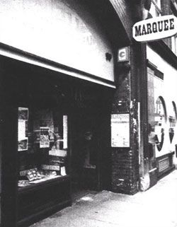 The Legendary Marquee Club, London.  Saw an absolutely brilliant gig by Sex Gang Children there in about 1985.