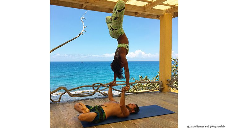 Jake's Treasure Beach one of Yoga Journal's 10 Family-riendly Yoga Vacations