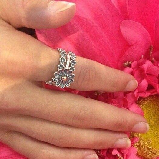 1000 Ideas About Pandora Flower Ring On Pinterest