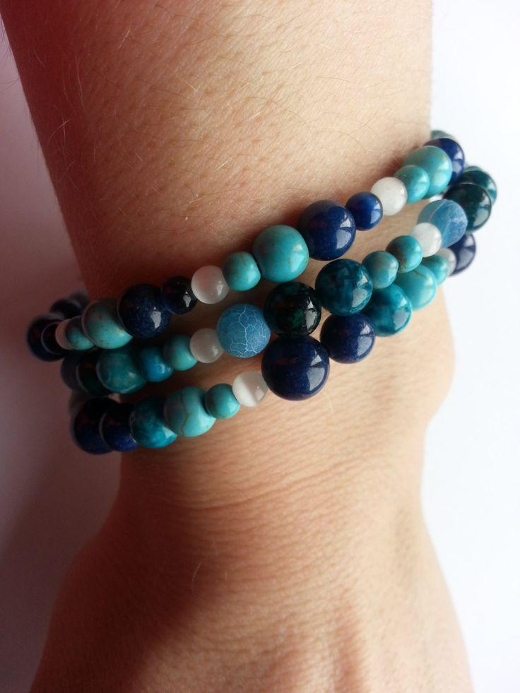 Healing Wrap Mala Bracelet NEW 2014  Bohemian by lovemeknottbilton, $45.00