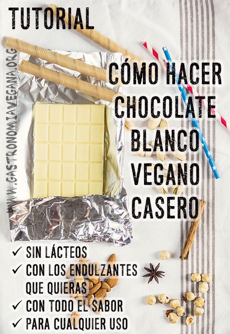 tutorial cmo hacer chocolate blanco vegano