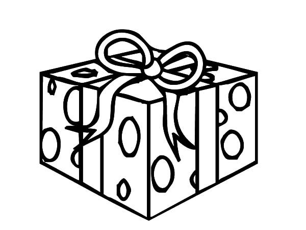 Christmas Presents Christmas Presents Surprise Coloring Pages