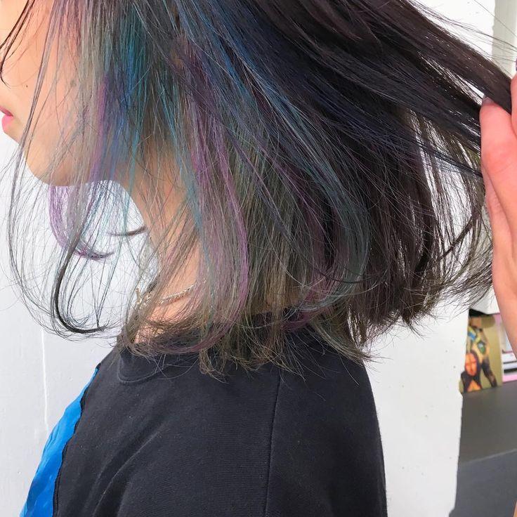 個性が際立つ方法の一つ、ヘアカラーメッシュ。最近はレディースでもいろんなヘアカラーメッシュの入れ方がありますよね。その中でも人気の画像を集めてみました♡派手なものだけでなく色々な物があるので、これからメッシュカラーを入れる予定のある人も予定がない人も見ているだけで楽しくなるような髪型を紹介します♪