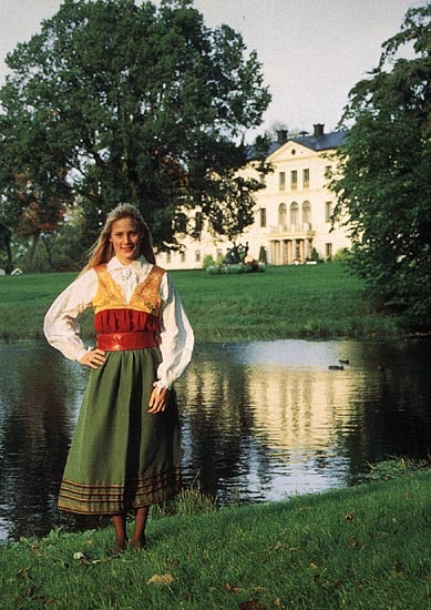 Södermanland, Sweden - traditional dress