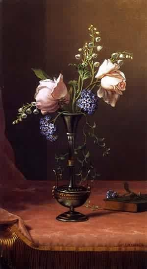 Martin Johnson Heade http://www.oceansbridge.com/paintings/artists/h/heade_martin_johnson/big/Victorian_Vase_with_Flowers_of_Devotion_1871-1880.jpeg