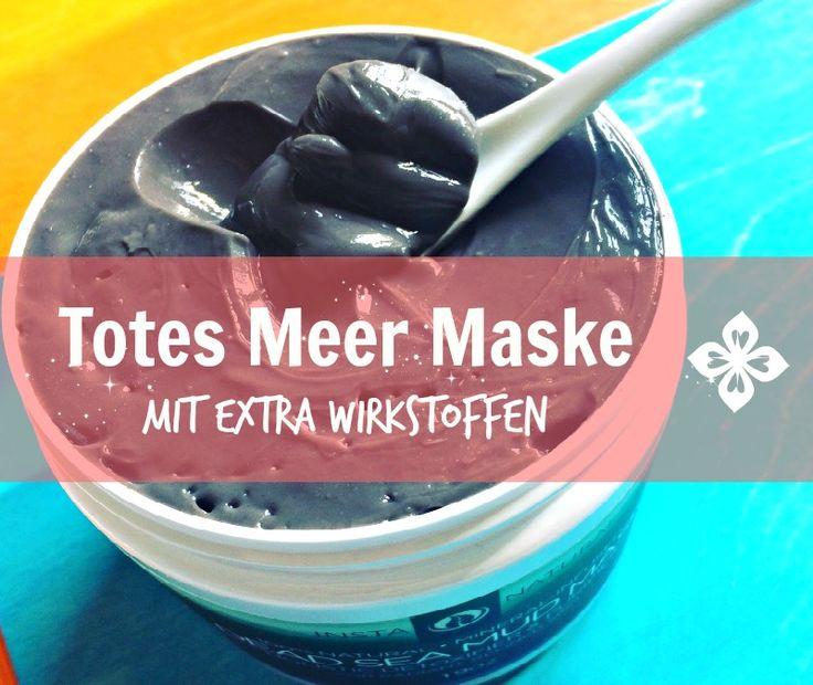 Totes Meer Maske mit Aloe Vera & Sheabutter ✓ Super Gesichtsmaske bei alle Hauttypen ✓ Besonders bei fettiger, unreiner Haut ✓ 100% natürliche Wirkstoffe ✓