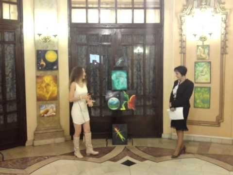 Vernisaj expozitie personala Corina Chirila la Cercul Militar National