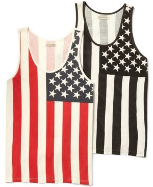 T-Shirt, American Flag Tank Top