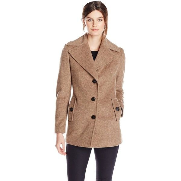 Missfox Women's Lapel Long Pea Coat Double Breasted Waterfall Lace Trench Coat. £ out of 5 stars 2. LOCOMO Women Beige Wool Double Breasted Button Pea Coat FFJL. £ 4 out of 5 stars 1. LOCOMO Women Wool Duffle Puff Shoulder Faux Fur Collar Pea Coat FFJREDL. £