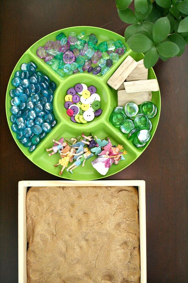 Fairy Garden Play Dough