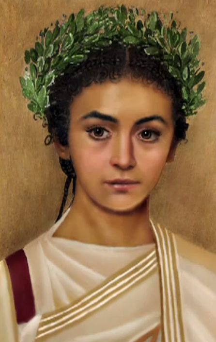 Reconstruction of Cleopatra Selene VII, daughter of Cleopatra & Mark Antony (40 - 6 BC)