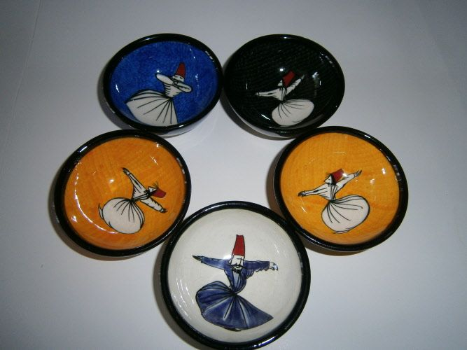 DERVISH BOWL SET OF FIVE