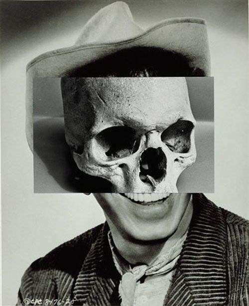 Disturbing collages by John Stezaker.