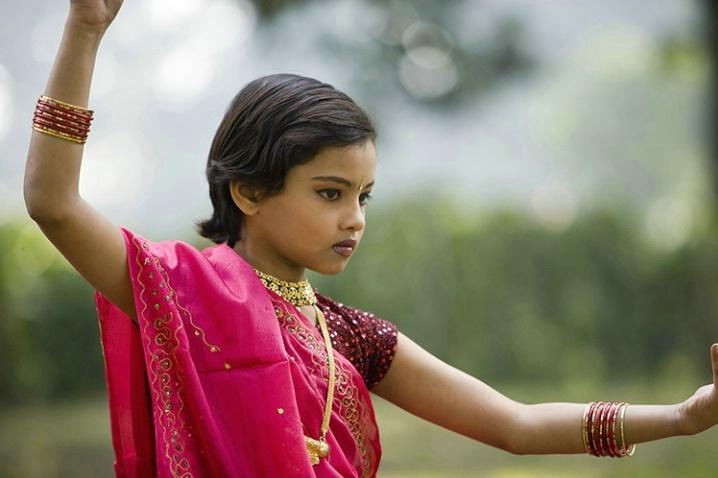 young dancer, varanasi, india