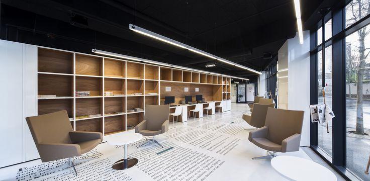 Gallery of Médiathèque du Bourget / Randja - Farid Azib Architects - 2