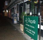 La Piazetta restaurant in Petersfield. My favourite in the town, although possibly living on past glories