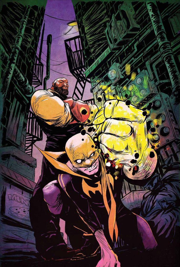 Luke Cage & Iron Fist - Sanford Greene