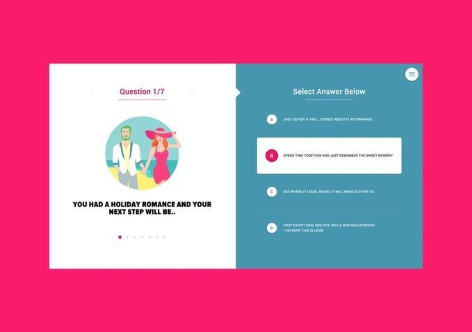 Best Design Awards 2016 Finalists Five Faves From Interactive Idealog In 2020 Quiz Design Simple Web Design Web Design Tips
