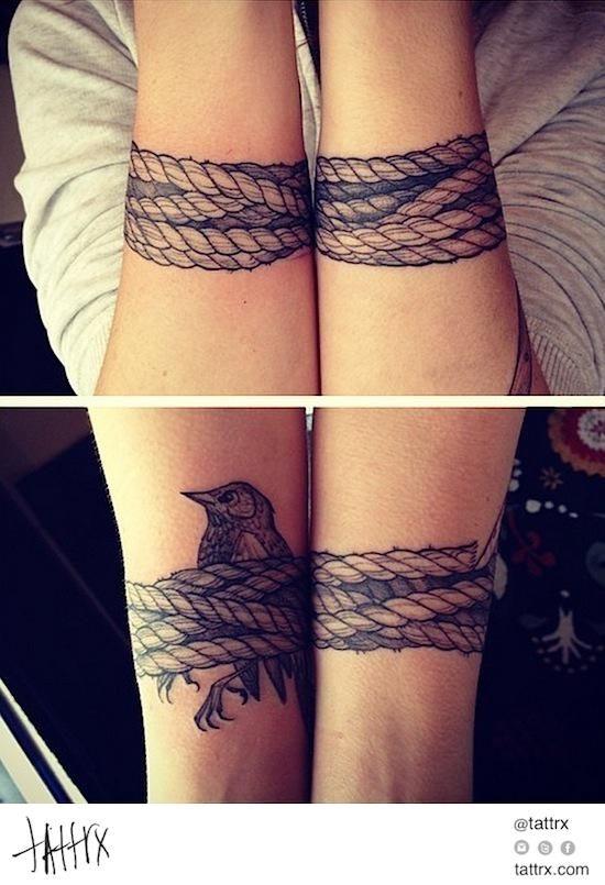 JenZie - Bound Bird tattrx.com/artists/jenzie tumblr: jenzietattoo