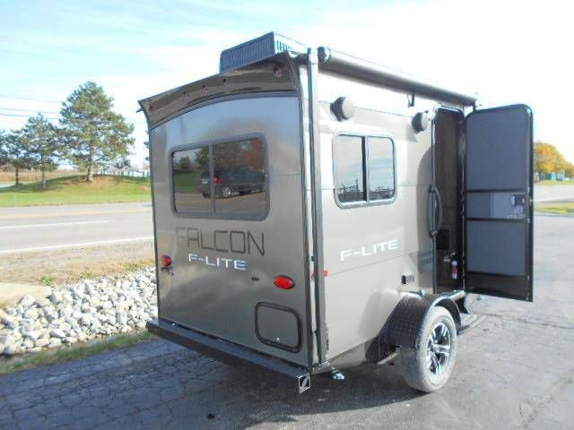 New 2018 Travel Lite Falcon Fl 14 F Lite Micro Lite Trailer
