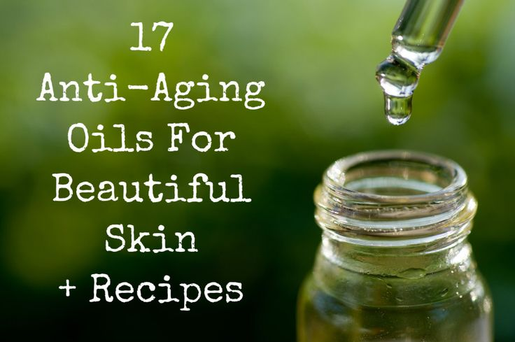 17 Anti-Aging Oils For Beautiful Skin + Recipes! I use a lot of these ois in my recipe too (http://simplelifemom.com/2014/01/03/anti-aging-with-essential-oils/)