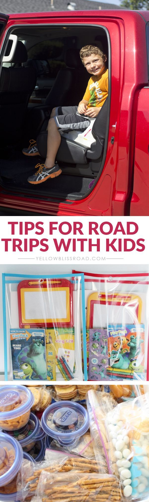 Taking a road trip with the kids has never been easier!
