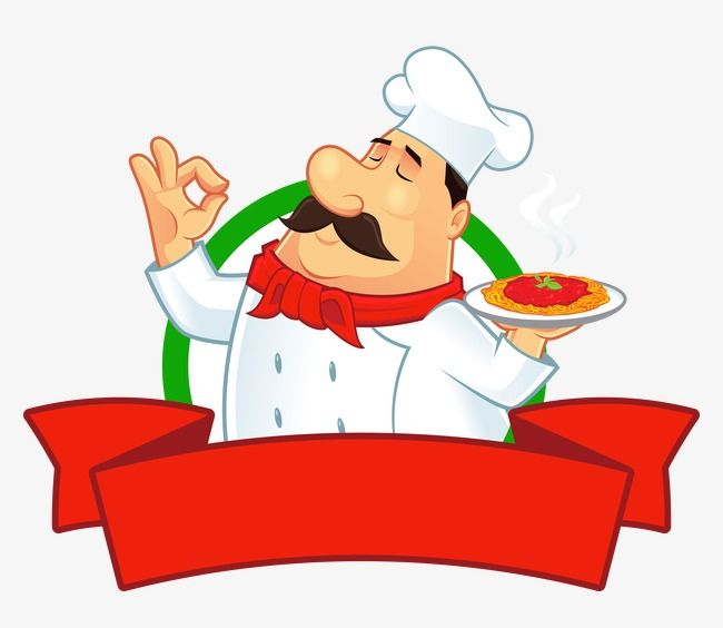 Chef Cartoon Label Chef Hat Clipart Cartoon Chef Food Labels Png Transparent Clipart Image And Psd File For Free Download Cartoon Chef Pizza Art Cartoon Clip Art