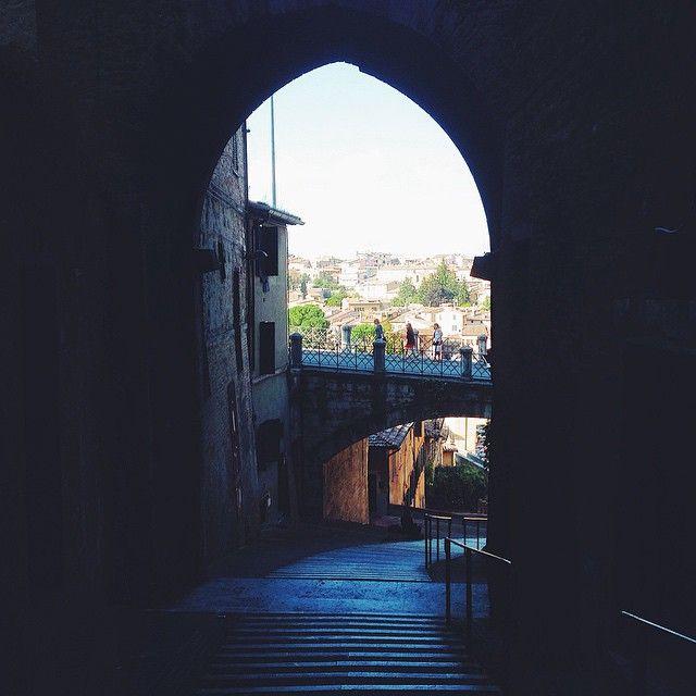 Scalette Dell'acquedotto - Perugia #perugia2019 foto di @alessandrabacci