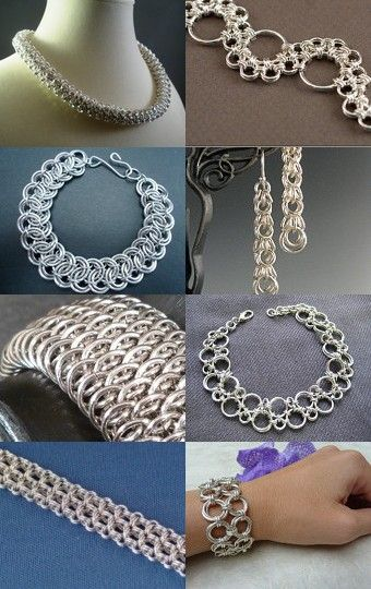 Sensational Silver Chainmaille -- pinned via treasurypin.com