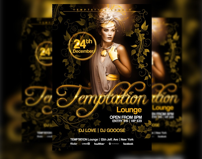 17 best images about club flyer inspiration on pinterest for Flyer inspiration