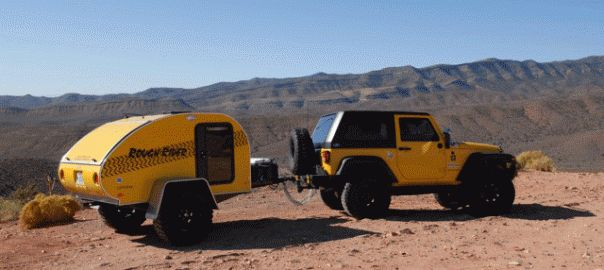Towing Tips Jeep 174 Wrangler Little Guy Teardrop Trailers