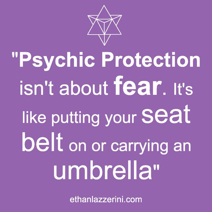 Psychic protection quote