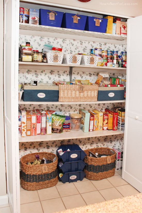 Pantry Makeover. Small Kitchen ...